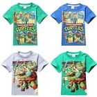 Teenage Mutant Ninja Turtles TMNT Shirt T-Shirt Short Sleeve Outfit Boys Costume