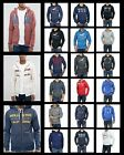 New Hollister by Abercrombie Men Zip Up and Pull Over Logo Hoodie Sweat Shirts