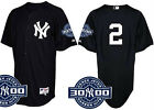 NWT 2011 MAJESTIC DEREK JETER #2 NEW YORK YANKEES JERSEY W/ 3000 HITS PATCH