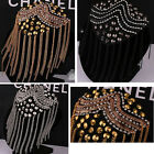 Stage Gothic Brooch Tassel Epaulette Shoulder Board Mark Costumes Dress Jewelry