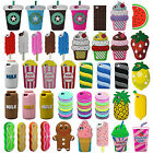 Chocolate Coffee Ice Cream Silicone Rubber New 3D Case Cover For iPhone 5 6 SE