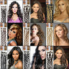 20'' Curly Loop Micro Ring  Tip 100% Remy Human Hair Extensions IN Wrap 8 Colors