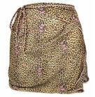 "BLUMARINE ""Wild Animal"" womens sarong pareo cover-up leopard (brown) NEW"