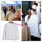 FX f(x) white shirt sweater goods Krystal Kpop New
