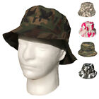 1 Dozen Camouflage Camo Bucket Boonie Hats Caps Hunting Fishing Wholesale Bulk