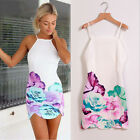 Womens Fashion Sexy Mini Dress Casual Evening Prom Party Club Dresses FO UK 09