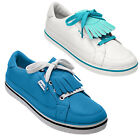 2014 CROCS LADIES BRADYN SPIKELESS GOLF SHOES - NEW SUMMER LIGHT SPORT LEATHER