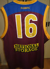 Jonathan Brown signed Brisbane Lions #16 Jersey (Unframed) + COA & Photo proof