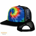 Kyпить 1 DOZEN DECKY Rainbow Tie Dye Print Foam Mesh Trucker Caps Hats WHOLESALE LOT на еВаy.соm