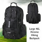 Large Hiking Camping Travel Rucksack Backpack Walking Festival Big Bag Trek 50L