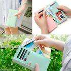 Fashion Zip Wallet Leather Case Cover For Apple iPhone 4 4S