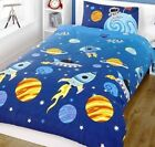 boys rocket bedding