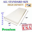 Kyпить High Density Upholstery Seat Foam Cushion Replacement Per Sheet Standard Sizes  на еВаy.соm