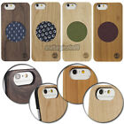 Genuine Natural Wood Wooden Bamboo Design Hard Back Case Cover For iPhone 6 4.7""