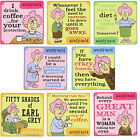 Aunty Acid - FUNNY QUOTE COASTER MAT FOR MUG - Aunty Acid Facebook
