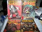 LOT OF 4 ASSORTED  THE ROOK COMIC MAGAZINES -fair - LOT C1