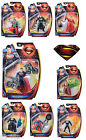 New Mattel Superman Man Of Steel - Superhero Figures Works With Flight Speeders