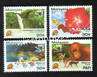 Malaysia 1994 AseanPex Overprint 4v Stamps Mint NH