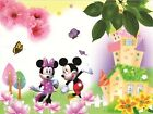 3D Disney Mickey Mouse Paper Wall Print Decal Wall Deco Indoor wall Murals