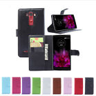 Luxury Flip Magnetic Card Wallet PU Leather Case Stand Cover For LG G Flex 2-New