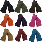 New Ladies Hippy Hippie Boho Gypsy Flared Wide Leg Baggy Cotton Pants Trousers