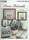 Cross Stitch Chart DEAR FRIENDS 4 designs Leisure Arts #524 Vintage 1987