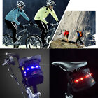 Outdoor Safe Cycling 7 LED Tail Lights Package Bicycle Saddle Seat Bag Pouch New