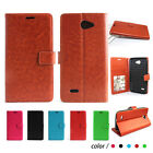 BLU Studio 5.5 K / BLU Neo 5.5 PERFECT FIT Luxury Leather Wallet Case Cover