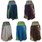 Ladies Rayon Skirt Cute Cool & Comfortable Lightweight Hippy Casual Summer