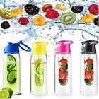 Fruit Infuser Water Bottle FLIP LID | Detox Slimming | Water Infusing | INFUSION