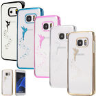 Durable Hard Skin Case Cover chrome effect fairy Samsung Galaxy Bumper
