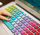 Macbook Pro Keyboard Decal Sticker Rainbow Air Skin US style Mac 12in Protector