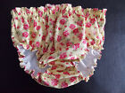 FLORAL COTTON PRINT KNICKERS LINED PLASTIC PANTS ADULT BABY SISSY  COSPLAY,