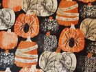 Timeless Treasures Halloween Pumpkin Fabric Spooky Fat Quarter By the Yard