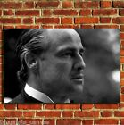 GODFATHER BRANDO COOL FILM CANVAS WALL ART BOX PRINT PICTURE SMALL/MEDIUM/LARGE