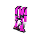 Dragonfire Racing Pink 4-Point H-Style Safety Harness w/Sternum Clip
