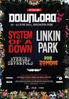 DOWNLOAD FESTIVAL 2011 System Of A Down Linkin Park PHOTO Print POSTER Zombie 19