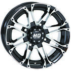STI HD3 Machined/Black ATV Wheel 14x7 (4/110) - (2+5) [14HD301]