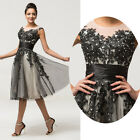 SEXY Girls Cocktail Party Formal Evening Gown Bridesmaid Short Semi Prom Dresses