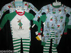 CARTER'S 2 PIECE CHRISTMAS PAJAMA SETS 2 PAIRS NWT SIZES 18 MONTH & 2T