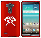 For LG G2 G3 Vigor G4 Shockproof Rubber Hard Case Cover Firefighter Skull