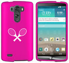For LG G2 G3 Vigor G4 Shockproof Rubber Hard Case Cover Tennis Racquets
