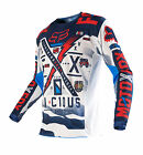 2016 Fox MX Youth 180 Jersey - Vicious Blue/White Motocross Offroad Trail Kids