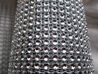 1 Metre Sparkly Crystal Diamante Look Rhinestone Mesh Ribbon Trim Wedding Cake