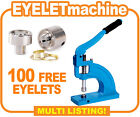 Eyelet Machine, Eyelets Banner Machine, Press Punch Machine - 500 FREE Eyelets