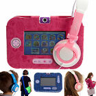 Ultimate Addons PU Leather Case with Stand and Headphones for Vtech Innotab 3s