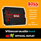 Boss Audio Systems 2200 Watts 2 Channel Class AB Car Speaker Subwoofer Amplifier