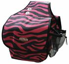 Showman Nylon Cordura Insulated Saddle Bag w/ Velcro Closure ZEBRA COLORS!