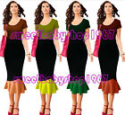 New Vintage Celebrity High Waisted Casual Party Long Midi Skirt S-4XL