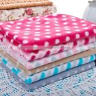 Small Large Cute Design Pet Dog Cat Fleece Couture Blanket Mat Quilt LJN